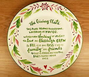 Freehold The Giving Plate