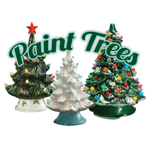 Vintage Christmas Tree Painting Party July 25 Freehold